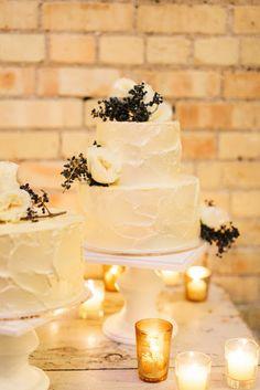 Precioso pastel de #wedding