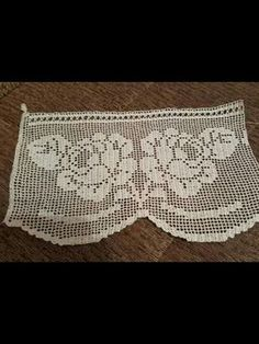 Sold out - twitch - Mathilda Crochet Lace Edging, Diy Crochet, Crochet Doilies, Crochet Patterns, Crochet Toddler Dress, Filet Crochet Charts, Crochet Curtains, Cool Curtains, Diy And Crafts