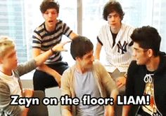 Liam has a violent side.. (GIF) I really want to know where this is fromm!!! I remember seeing it in a video before, but I don't know which one :/