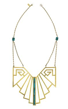 Pamela Love, wrought iron breastplate. $1525 at Moda Operandi. #pamelalove #jewelry #necklaces