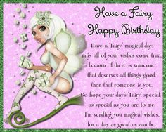 Magical fairy birthday wishes. Free online Fairy Happy Birthday ecards on Birthday Happy Birthday Penguin, Happy Birthday Ecard, Cute Happy Birthday, Birthday Wishes Funny, Birthday Songs, Fairy Birthday, Boy Birthday, Birthday Sparklers, Birthday Fireworks