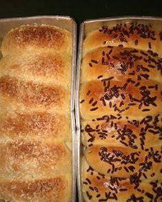 Resep Roti Sobek Lembut Tanpa Pelembut Bahan Kimia Roti Bread, Bread Bun, Bread Cake, Easy Bread, Bread Rolls, Fruit Salad Recipes, Snack Recipes, Dessert Recipes, Cooking Recipes