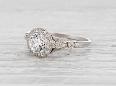 .75 Carat Edwardian J.E. Caldwell Engagement Ring