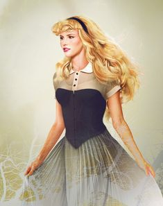 """""""Princess Aurora from Sleeping Beauty"""" -Graphic designer Jirka Vinse Jonatan Väätäinen is truly talented! By using photoshop, this artist has created portraits of what all the Disney princesses would look like in real life. They are beautiful."""