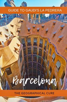 A Masterpiece of Nature: Gaudí's Surreal La Pedrera Europe Travel Tips, Spain Travel, Travel Advice, Travel Guides, Portugal Travel, Travel Destinations, European Vacation, European Destination, European Travel