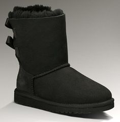 UGG Bailey Bow Boots in black