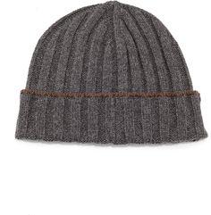 Brunello Cucinelli Cashmere Wide-Rib Hat on shopstyle.com ea491a2f1202