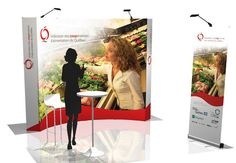 Stand d'exposition portable