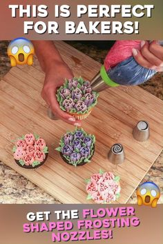 🥰Hello MasterChef 👍We have great news for you 🔥Our bestselling is back in stock 🤔Click the link to learn Diy Christmas Videos, Rhubarb Cake, Icing Frosting, Beautiful Cupcakes, Dessert Decoration, Cool Kitchen Gadgets, Diy Hair Accessories, Cake Decorating Tips, Detox Recipes