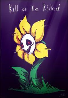 Undertale Flowey, Undertale Fanart, Undertale Comic, Frisk, Undertale Pictures, Undertale Drawings, Flowey La Flor, Dark Flower, Pixel Art