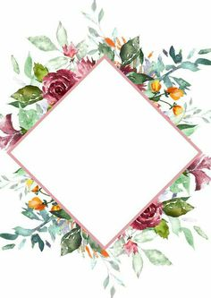 Trendy Ideas For Wedding Card Ideas Invitations Layout Flower Backgrounds, Wallpaper Backgrounds, Iphone Wallpaper, Wallpapers, Motif Floral, Floral Border, Art Plastic, Motif Oriental, Invitation Layout
