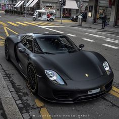 Matte Porsche 918 • Follow @metrorestyling • For all your wrap needs • • Get…