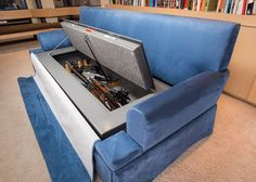 For The Gun Lover: The Couch Bunker ok this is so me.... ( and u too Joy lol)