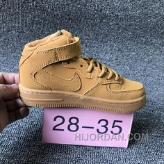 Discover the NIKE AIR FORCE Kids Preschool Wheat Children New Release collection at Yeezyboost. Shop NIKE AIR FORCE Kids Preschool Wheat Children New Release black, grey, blue and more. New Jordans Shoes, Nike Shoes, Sneakers Nike, Air Jordans, Discount Sneakers, Shoes Uk, Golf Shoes, Sports Shoes, Shoes Sandals