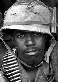 Black soldier Vietnam war