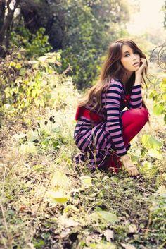 IU very pretty and cute clothes