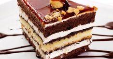 """Tort """"Luminile Parisului"""" + rețeta pentru o cremă fiartă deosebit de fină! - Bucatarul Romanian Desserts, Cake Recipes, Dessert Recipes, Something Sweet, Yummy Cookies, Cream Cake, Food To Make, Sweet Treats, Bakery"""