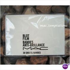 MAC Blot Film - absorbs oil - 30 sheets - £11 - Sealed on eBid United Kingdom