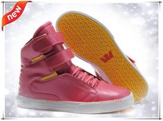 Supra Tk Society High Tops Pink/Yellow/White Mens Outlt Black Friday