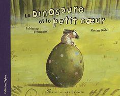 Le dinosaure et le petit cœur Michel, Anime, School Stuff, Albums, Books, Films, Movie Posters, Pop, Volcanoes