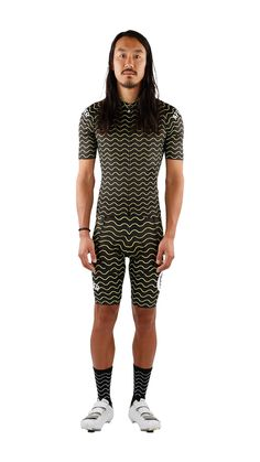Making Waves Black by Attaquer buy online cool fashionable cycling kit fuckyeah free shipping