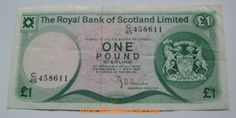 1981 Royal Bank of Scotland Limited 1 Pound Sterling