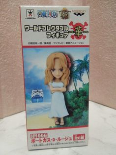 New One Piece World Collectable Portgas D. Rouge Figure HN006 from Japan