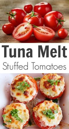 ... Tomatoes on Pinterest   Stuffed Tomato Recipes, Tuna and Tomato Recipe