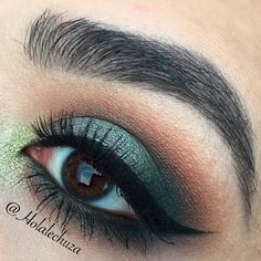 This look was done with the Wet n Wild Comfort Zone palette over NYC cosmetics Brown Perfection liner as a base. I also used Makeup Geek shadows in Peach S