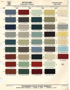 dc9b441a99ffbed4171bdba5dbb26f50 color codes charger paint chips 1973 volkswagen beetle vw bus misc stuff pinterest Java Green VW Bug at panicattacktreatment.co