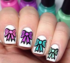 COOL bow nails