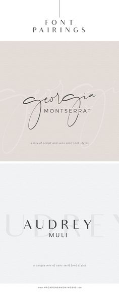 Choosing the proper font combination will give you a luxurious, modern, traditional, or feminine feel. Montserrat, one of my favorite san serif fonts. Graphic Design Fonts, Web Design, Design Logo, Design Posters, Luxury Graphic Design, Graphic Design Invitation, Minimalist Graphic Design, Type Posters, Type Design