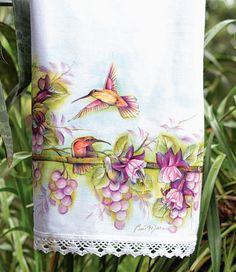 Blog Vitrine do Artesanato - pintura em tecido por Luis Moreira