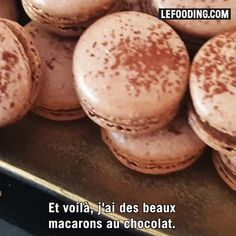 Macarons, Good Food, Yummy Food, Tasty, Macaroon Recipes, Chocolate Desserts, Nutella, Sweet Tooth, Deserts