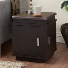Shop for Furniture of America Armalla Modern Espresso Storage End Table. Get free shipping at Overstock.com - Your Online Furniture Outlet Store! Get 5% in rewards with Club O!