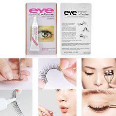 7g Women Beauty Makeup False Eyelashes Makeup Adhesive Waterproof Eye Lash Glue J2 B6