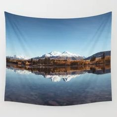 Mountains Lake Nature Landscape Wall Tapestry