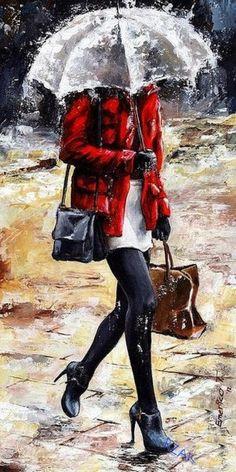 AGUA Y VIENTO. © … Y persiste todavía esta lluvia cantora en mi ventana, martilleando incesante en los cristales, como lo hace cualquier idea en mi ment... - Mercedes Antón - Google+