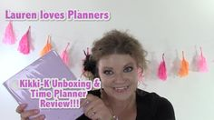 Kikki-K Time Planner 2015 Unboxing and Review