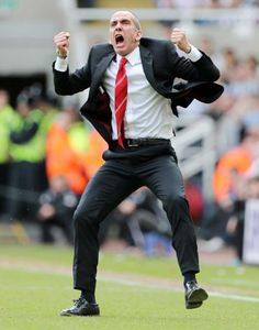 ~ Paolo di Canio, manager of Sunderland AFC, ecstatic with his sides performance against Newcastle United in the Tyne-Wear Derby at St. James' Park ~