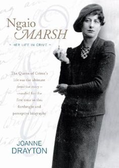 """Read """"Ngaio Marsh Her Life in Crime"""" by Joanne Drayton available from Rakuten Kobo. Which was the real Ngaio Marsh - Dame of the British Empire or the dame who wrote detective novels? Crime Fiction, Mystery Thriller, Agatha Christie, Detective, Movie Stars, Audiobooks, Ebooks, Novels, This Book"""