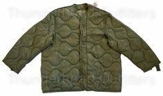 94849c2d57f2 US Army M-65 Field Jacket Liner Military Clothing, Tactical Vest, Field  Jacket