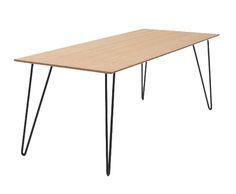 WAUW! Deze RAY tafel van het hippe merk Fest Amsterdam is voorzien van een strak bamboe tafelblad. Het stoere onderstel maakt de tafel helemaal af!Een prachtige eettafel maar ook erg stoer als bijvoobeerld bureau. Combineer deze tafel met de geweldige Fest Amsterdam Monday eetkamerstoelen en j
