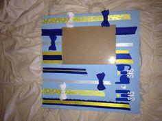 A big/little phi sigma sigma frame I made! I got the idea for DIY Greek! Phi Sigma Sigma Sorority Big and Little