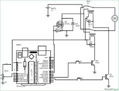 DIY Arduino based Fire Fighting Robot circuit diagram