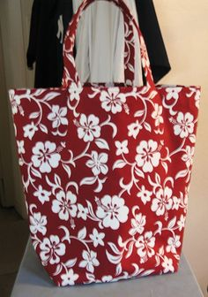 Reversible Grocery/Market/Tote Bag PDF Pattern-Super Easy-Great for Beginner-