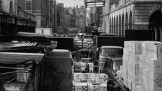 It wasn't always gawping tourists and fashion flagships, y'know. Use our interactive gallery for a glimpse of the West End's working past Bedford House, London History, Garden Images, Covent Garden, Old London, West End, Past, Things To Do, Corner