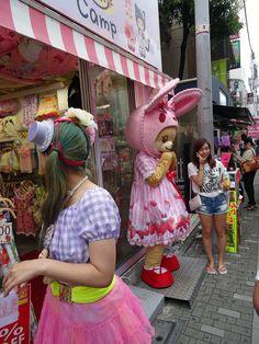 Takeshita street, Harajuku, Tokyo Japanese Streets, Japanese Street Fashion, Totoro, Japanese Travel, Japanese Beauty, Japanese Style, Japanese Art, Takeshita Street, Places