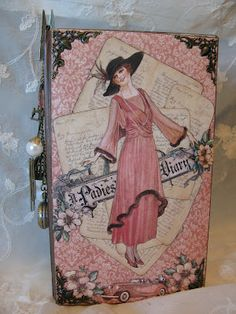 Graphic 45 A Ladies Diary year book journal / mini album