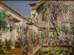 Manuel Garcia Rodriguez: First Atrium of Saint Paula Convent, Seville